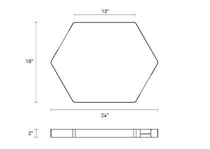 Hecks ottoman tray designhouse for Www design house com