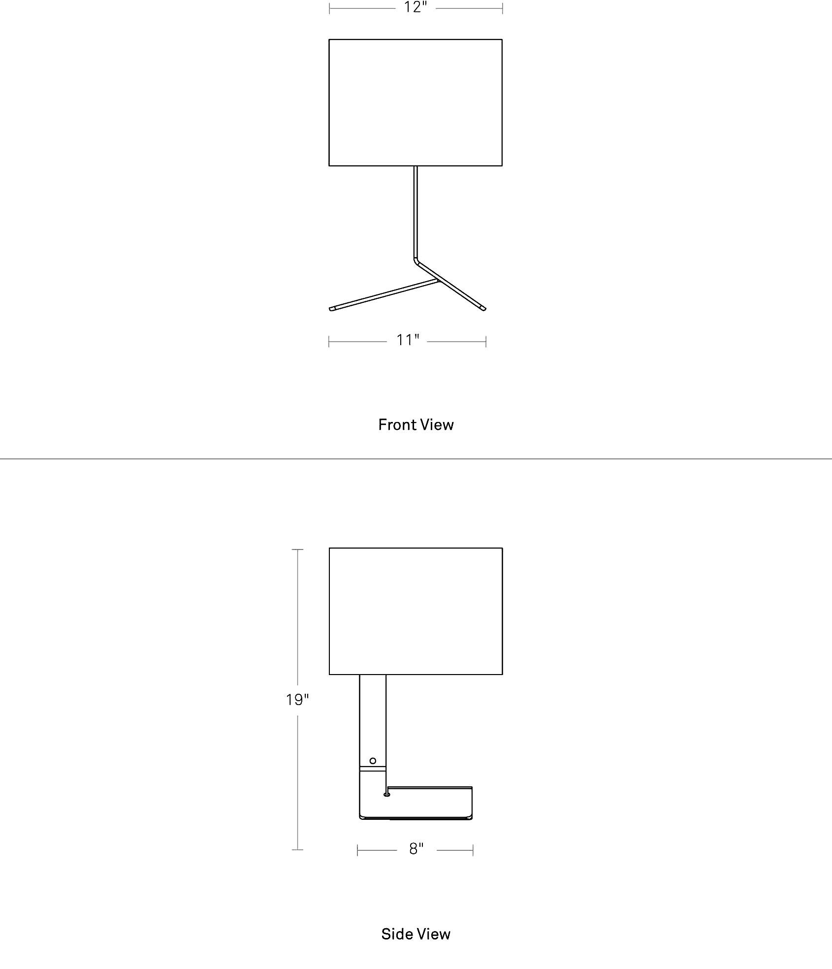 Bender Table Lamp Unique Table Amp Desk Lamps Blu Dot