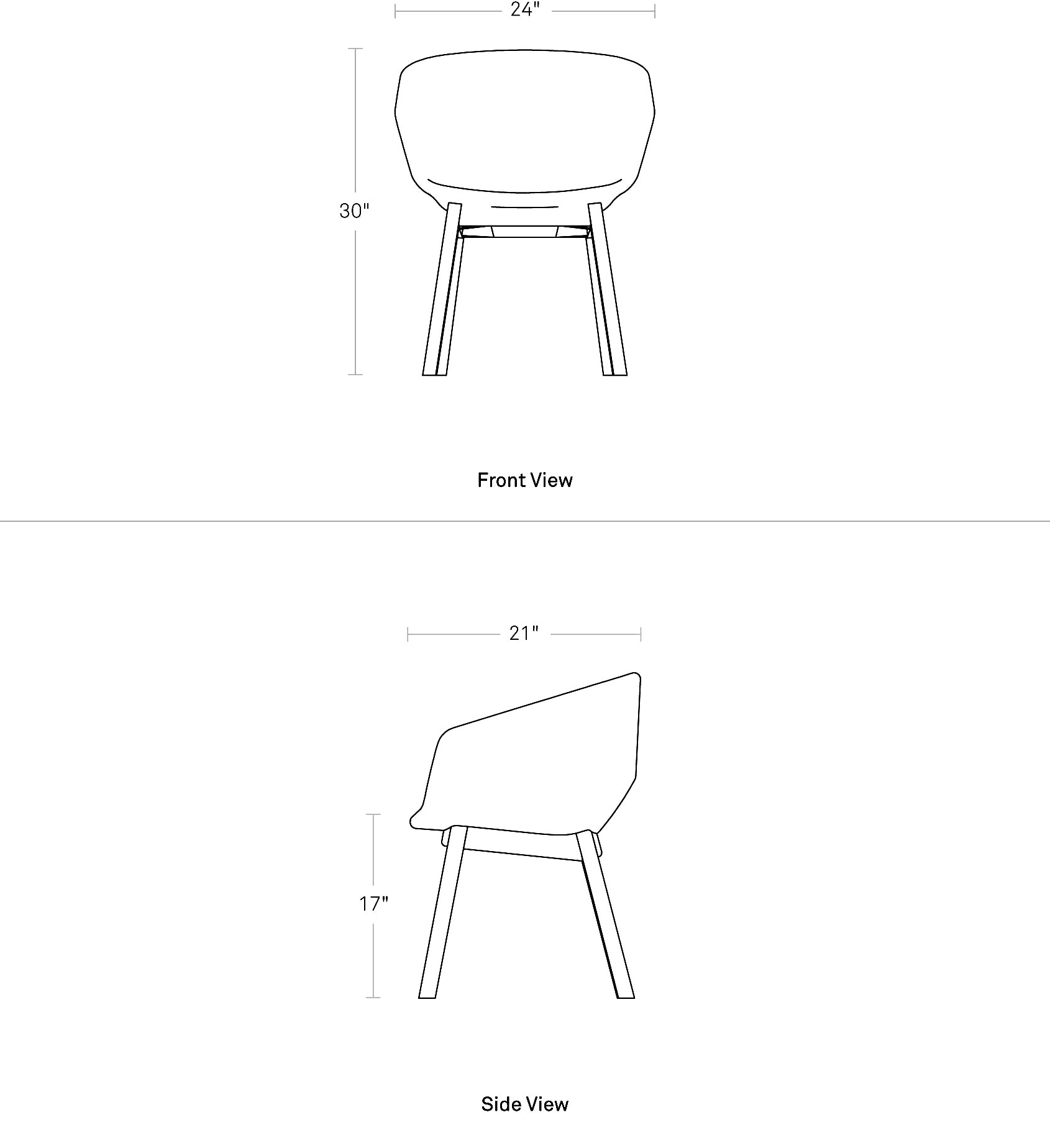 Excellent Host Modern Upholstered Dining Room Chair Blu Dot Beatyapartments Chair Design Images Beatyapartmentscom