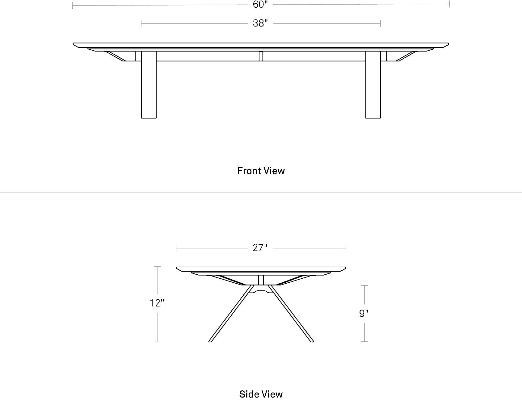 Super Rectangular Marble Coffee Table | Blu Dot