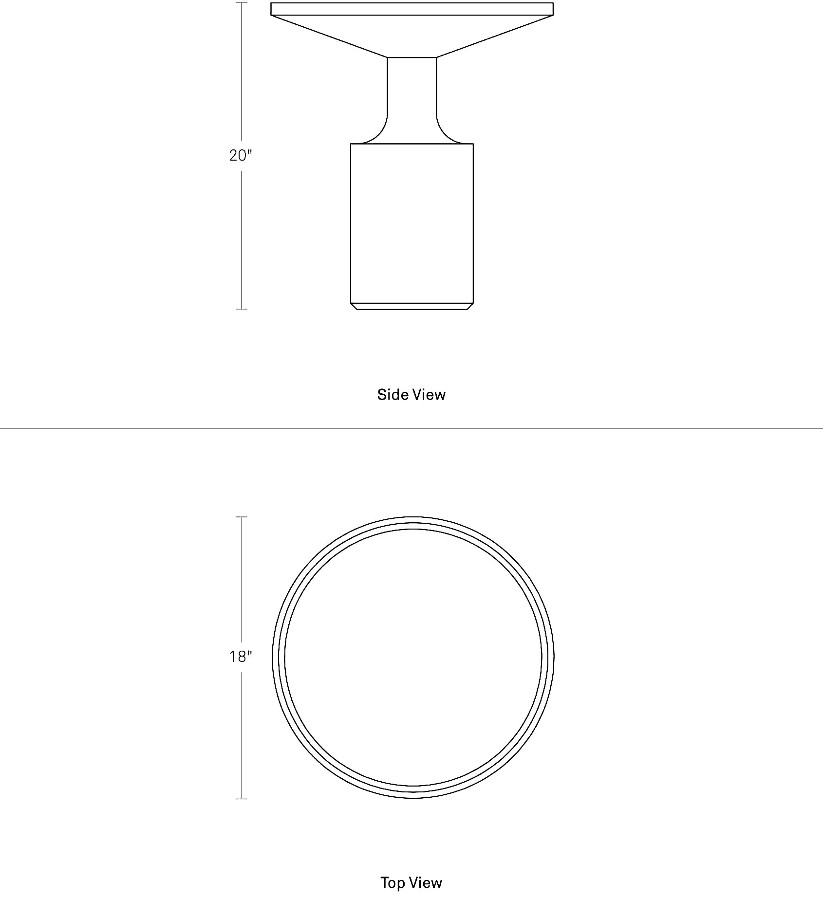 Turn Tall Side Table Tall Round Side Table Blu Dot