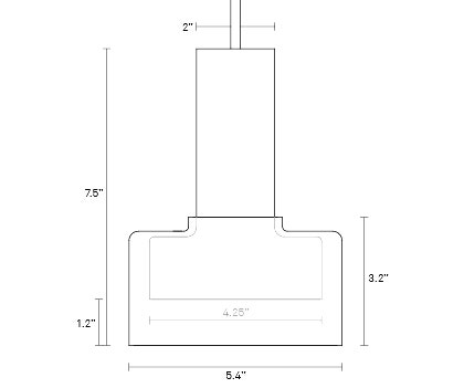 Trace 2 pendant light designhouse for Www design house com