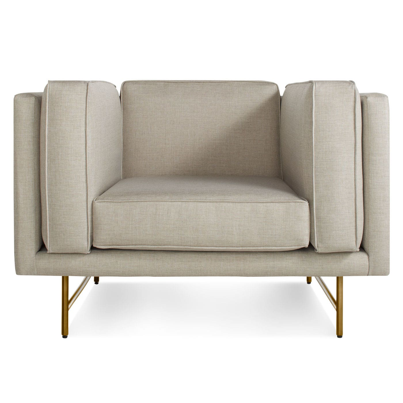 Bank Upholstered Club Chair Modern Club Chair