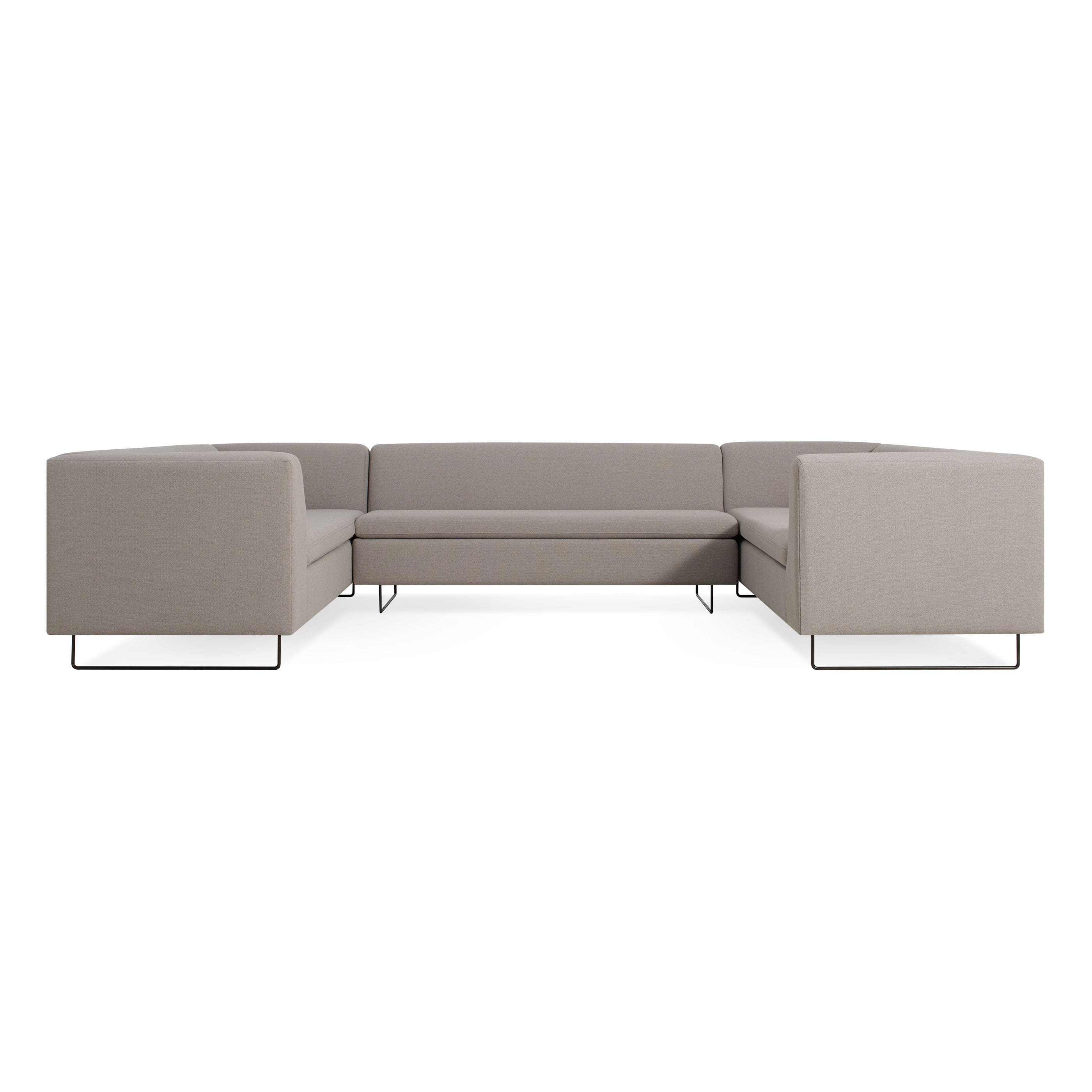 previous image bonnie u0026 clyde ushaped sectional sofa condit silver