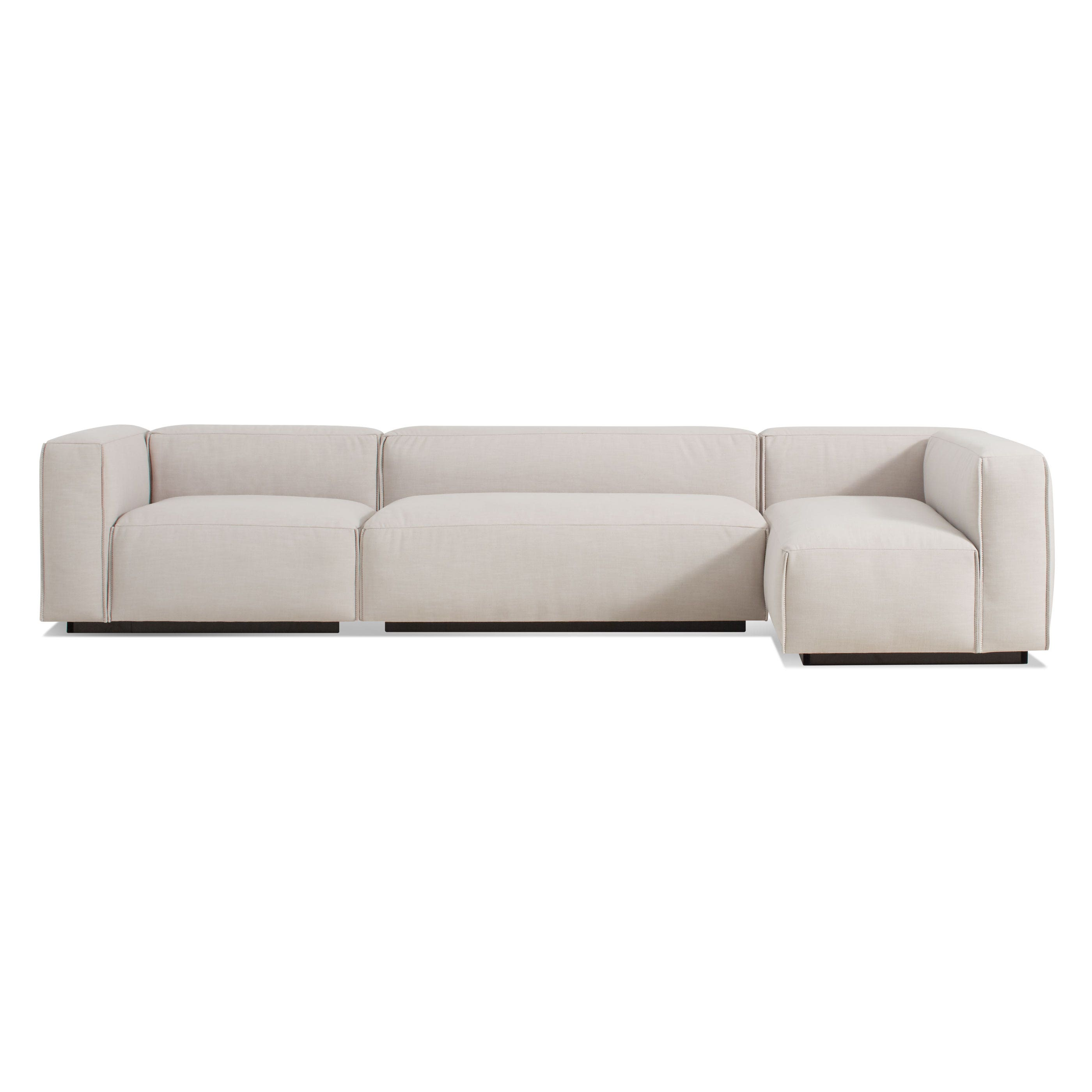 Cleon Medium Sectional Sofa Modern Sofas and Sectionals