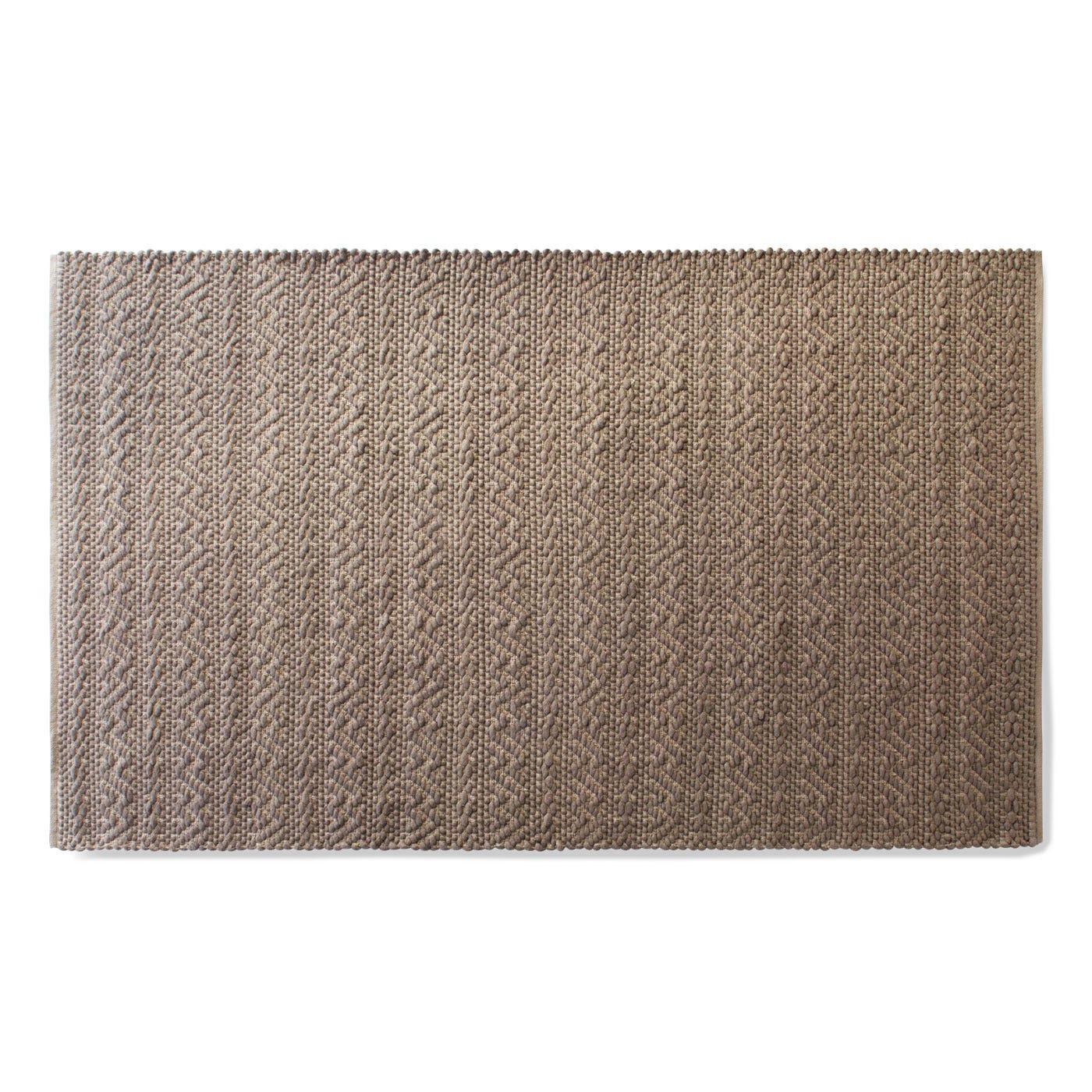 5 Choose 8 India Modern Rug Grey Flat