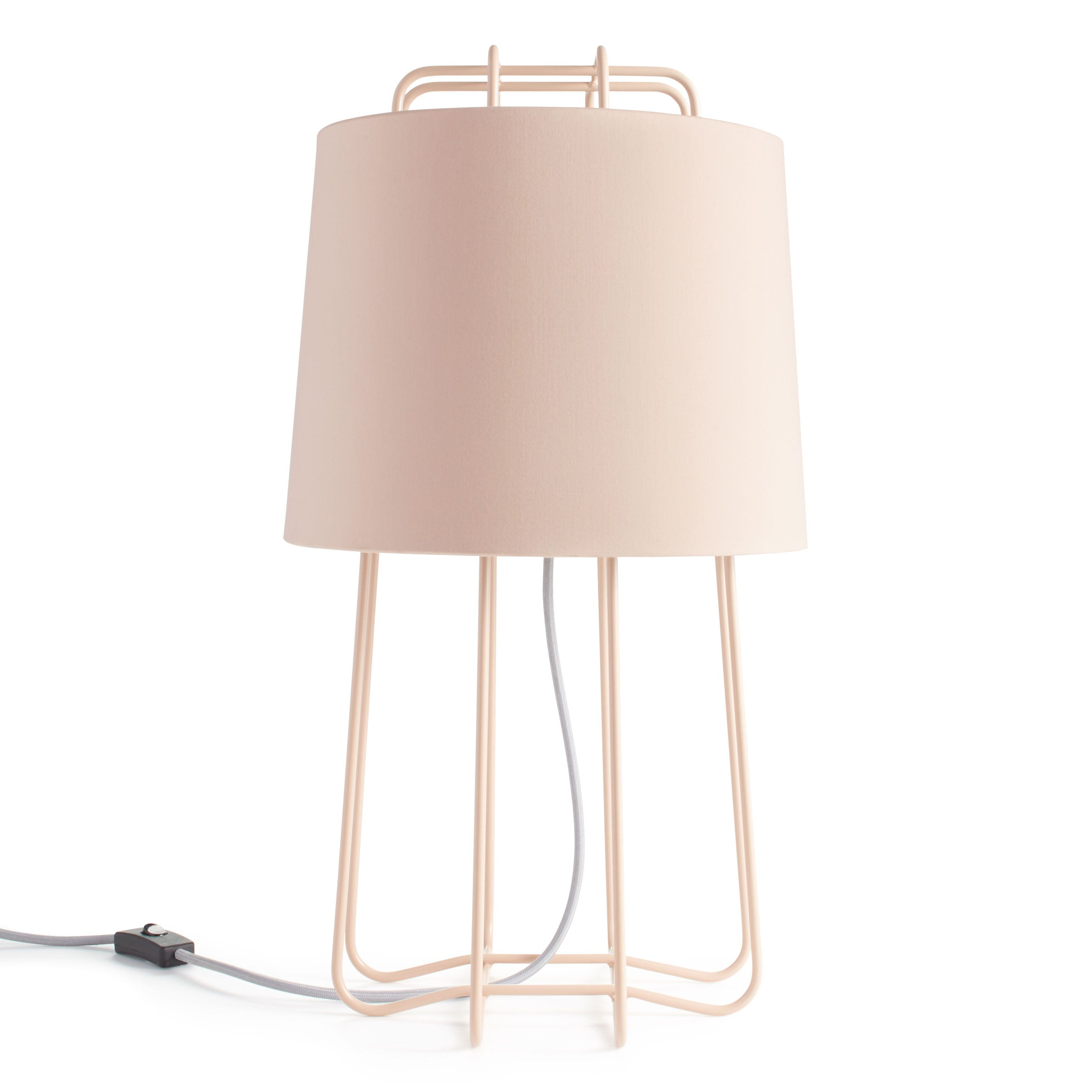 previous image perimeter table lamp blush blush - Unique Table Lamps