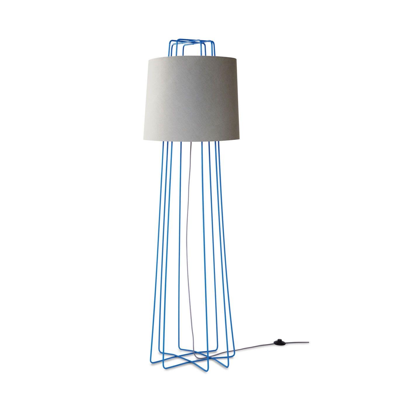 contemporary floor lighting. previous image perimeter floor lamp bright blue grey contemporary lighting