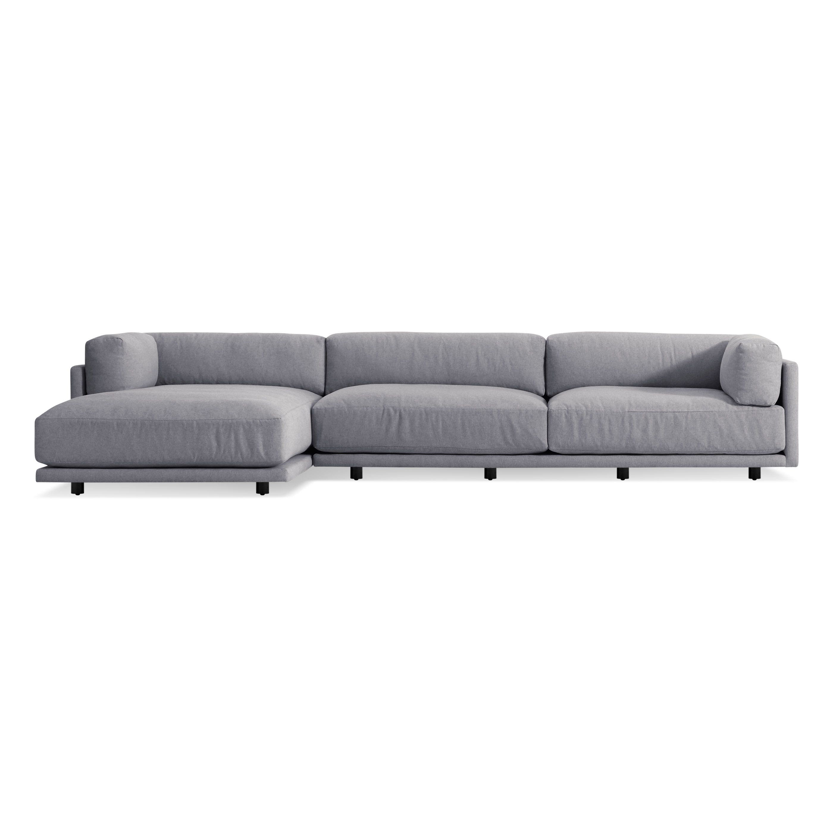Sunday sofa w left arm chaise left arm chaise for 2 arm chaise lounge