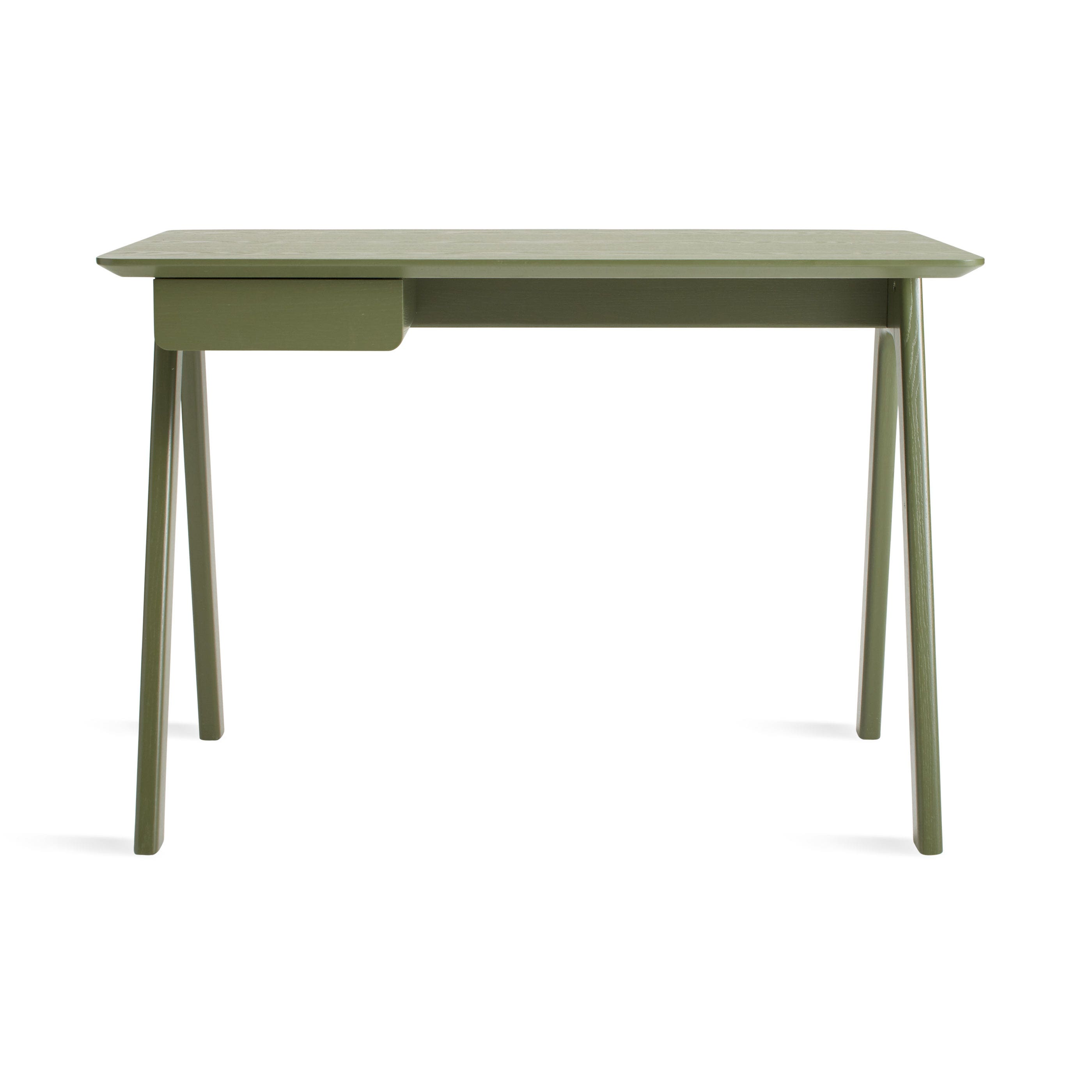stash writing desk  modern writing desk  blu dot - previous image stash desk  olive on ash
