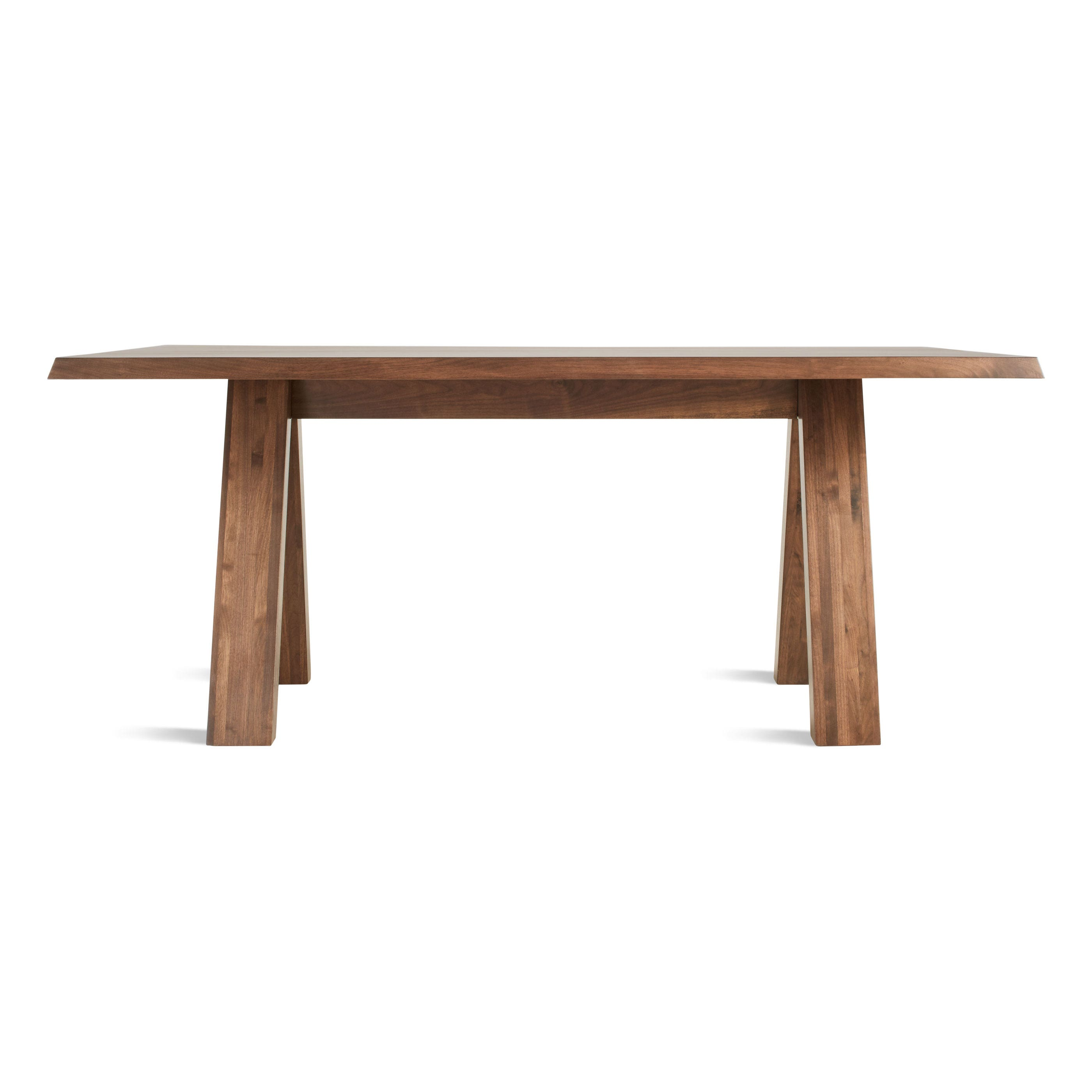 Solid Wood Modern Dining Table Modern Solid Wood Dining Table A Walk In The Park Blu Dot