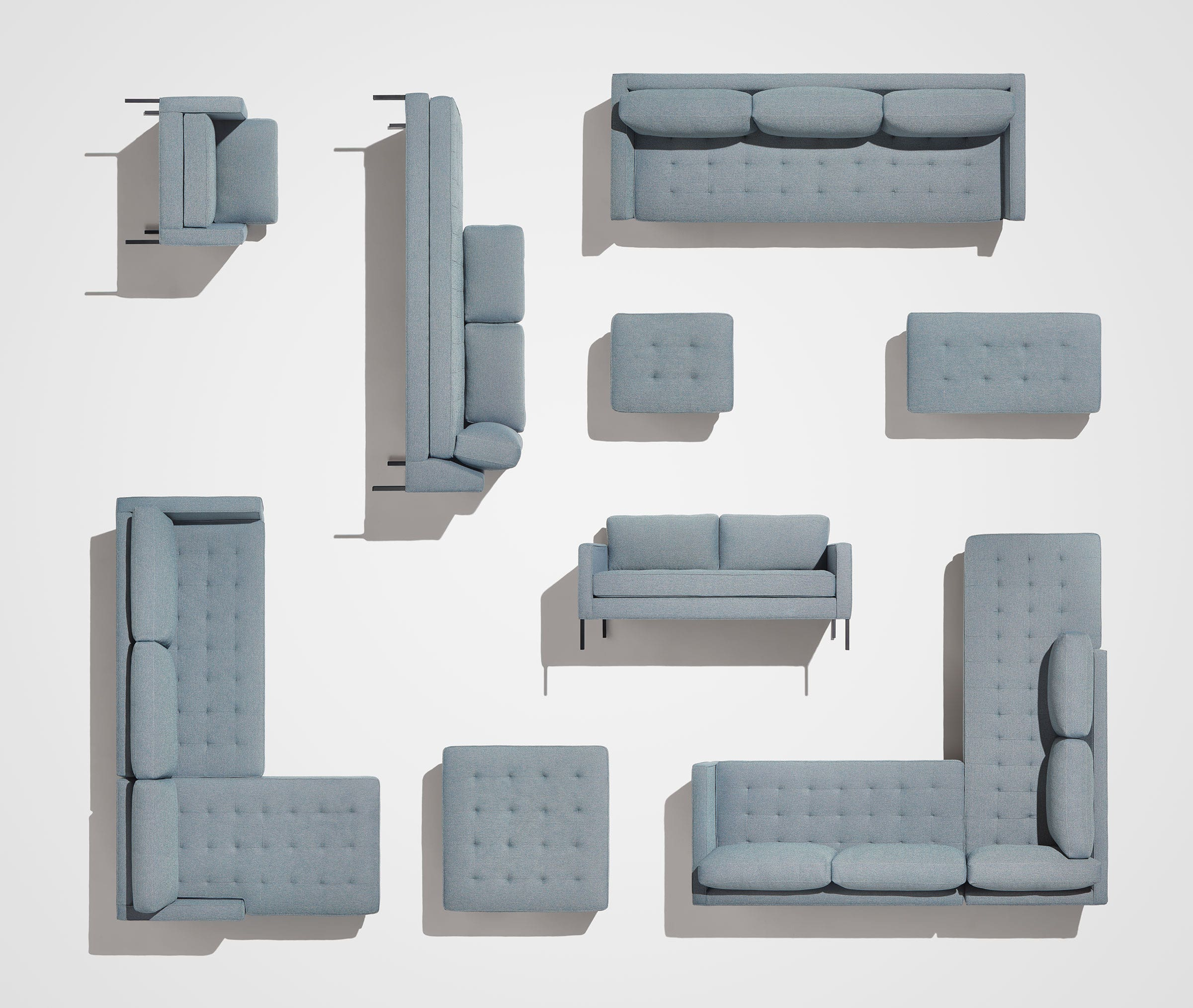 Paramount Tufted Sofa - Modern Tufted Sofa | Blu Dot