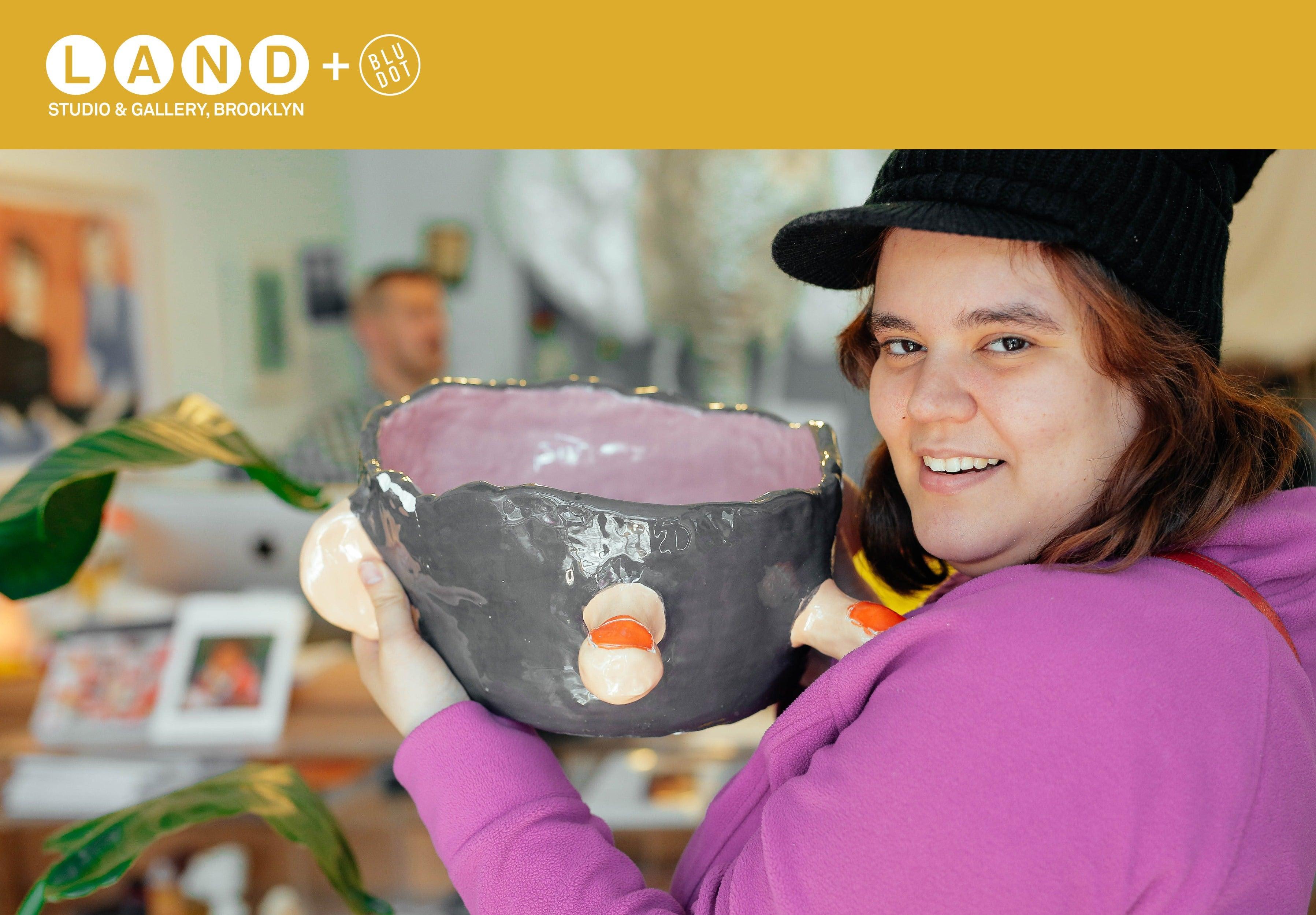 LAND Gallery + Blu Dot Meatball Vase