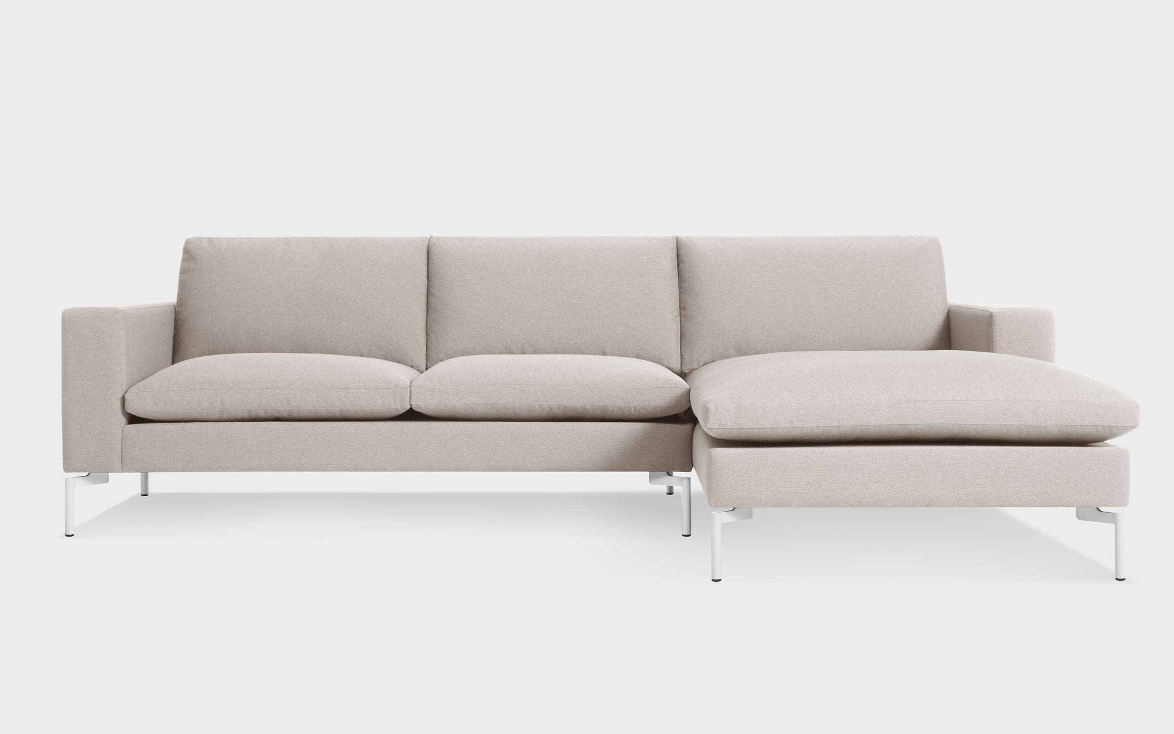 New Standard Sofa W Right Arm Chaise