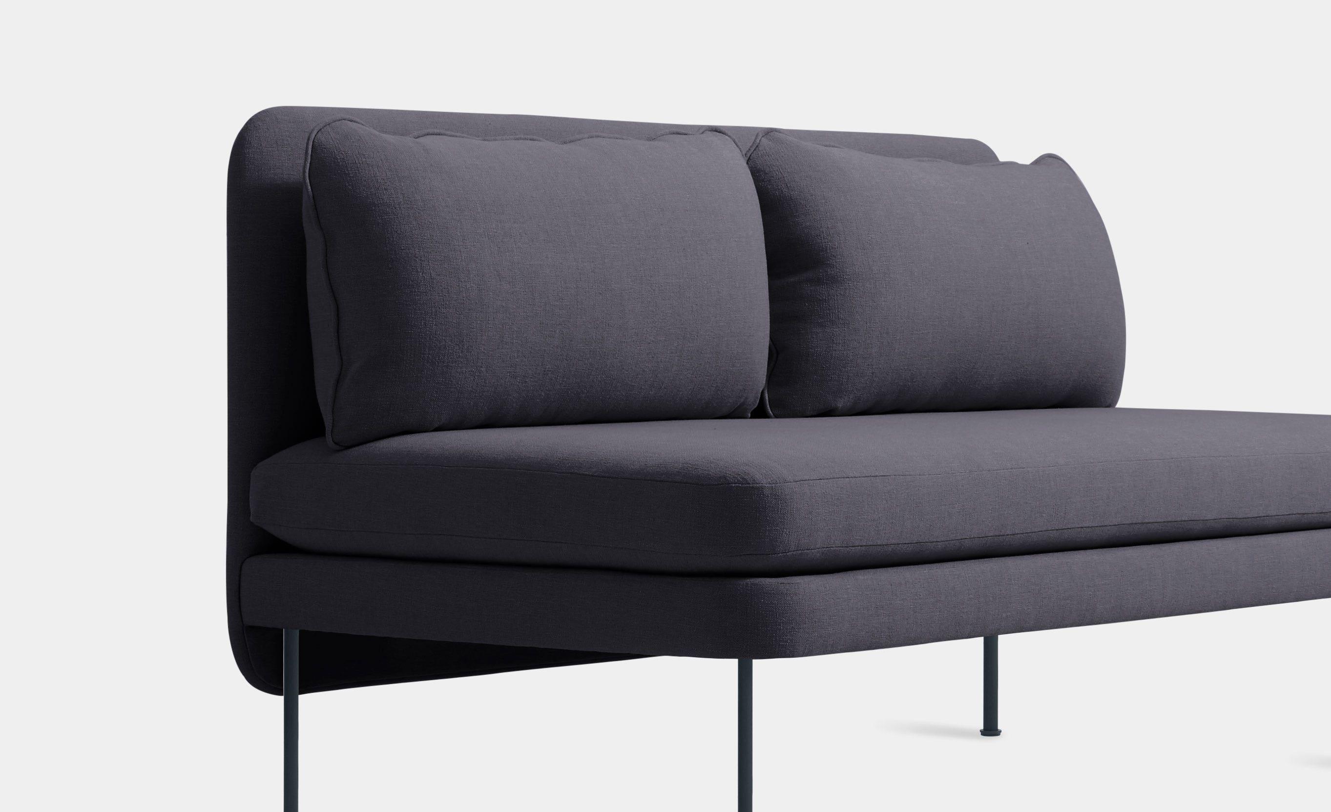Bloke Armless Sofa by Blu Dot