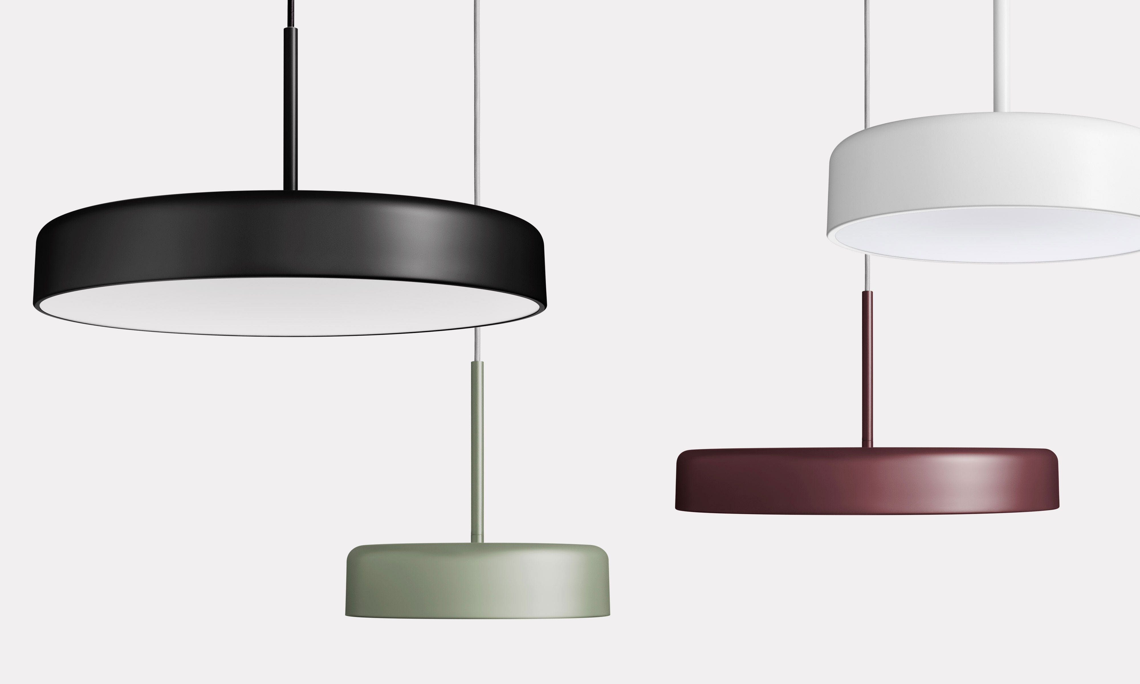 Bobber Pendant Lights by Blu Dot