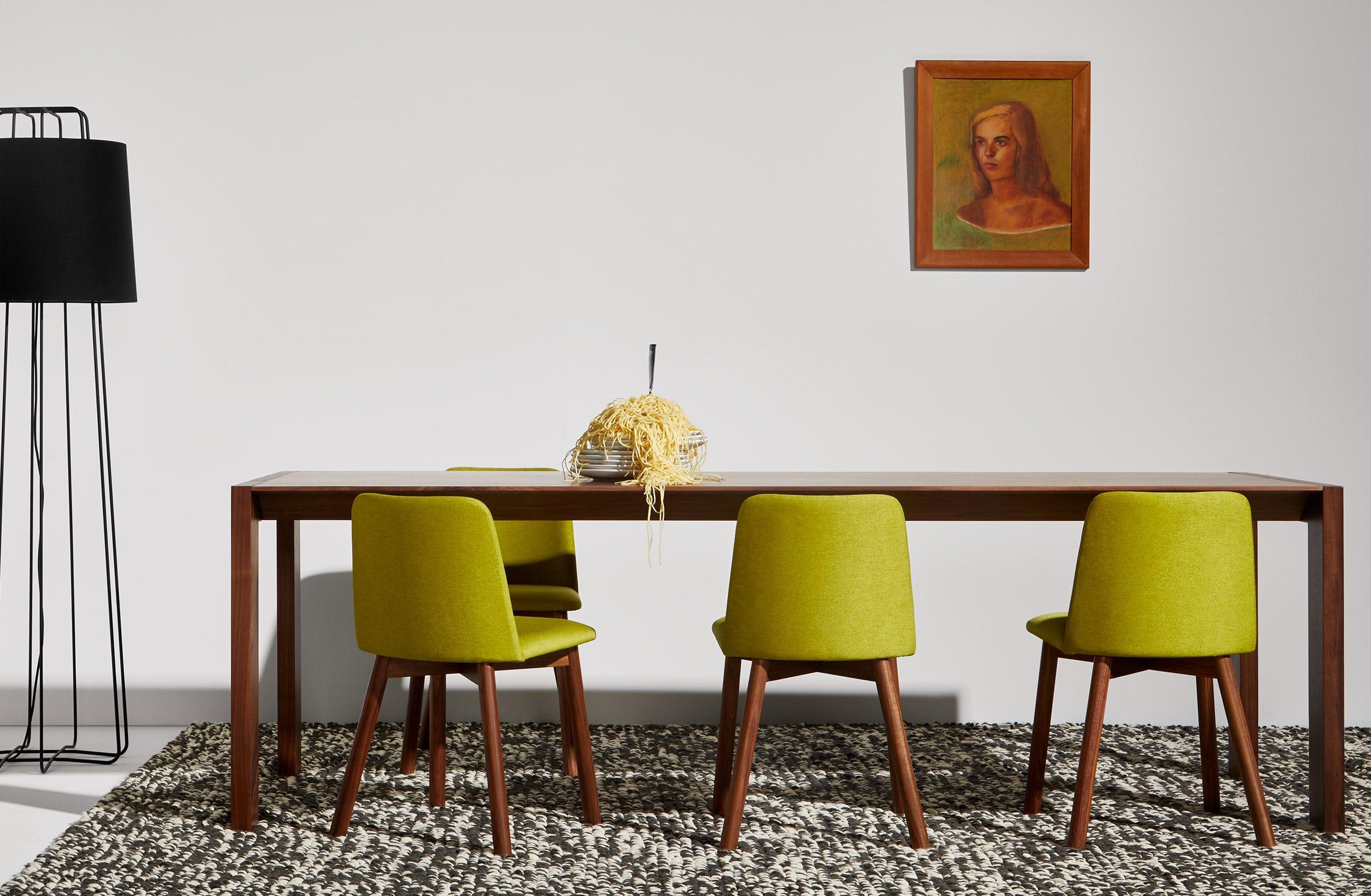 Second Best 76 Modern Walnut Dining Table Blu Dot