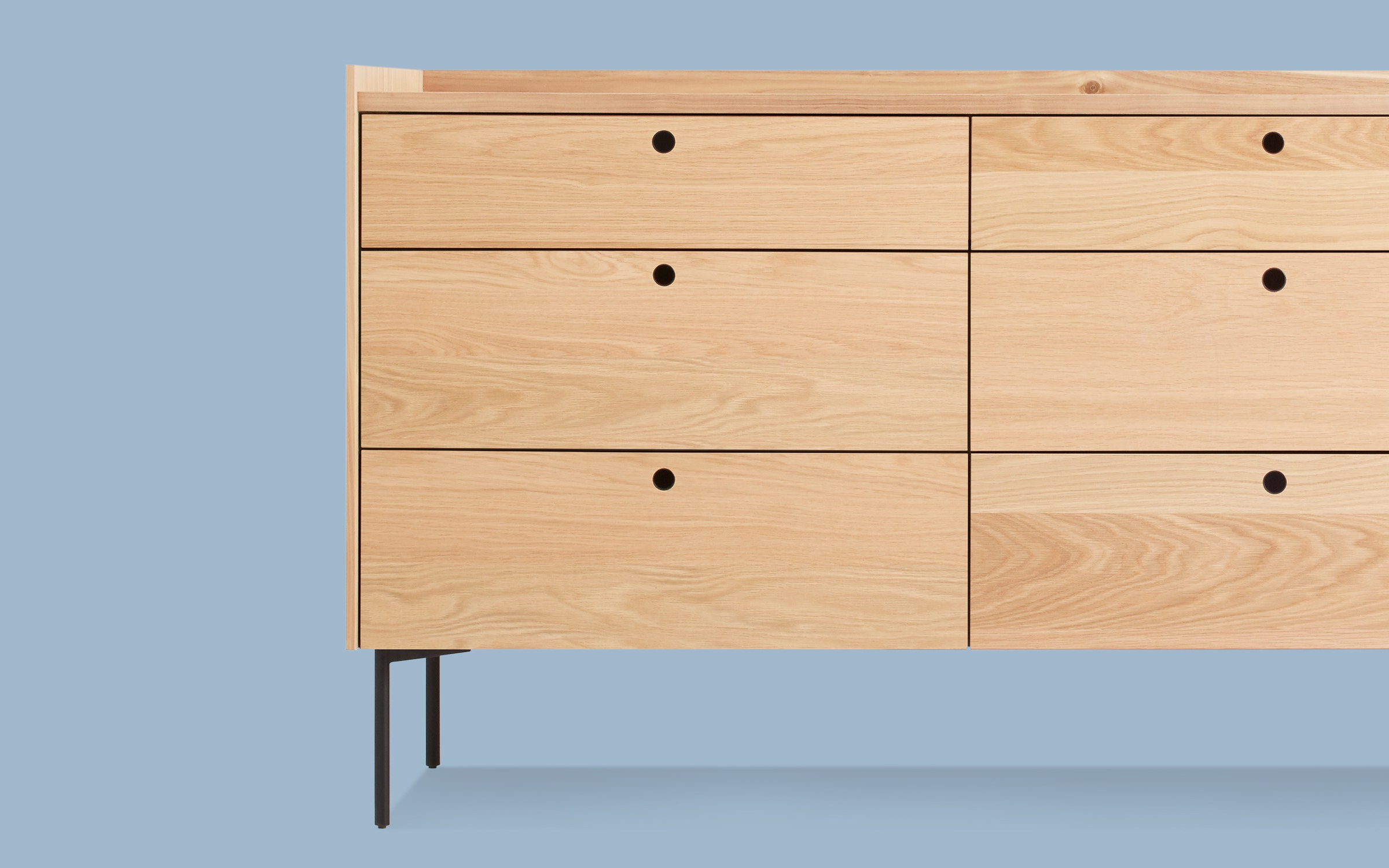 Peek 6 Drawer Dresser