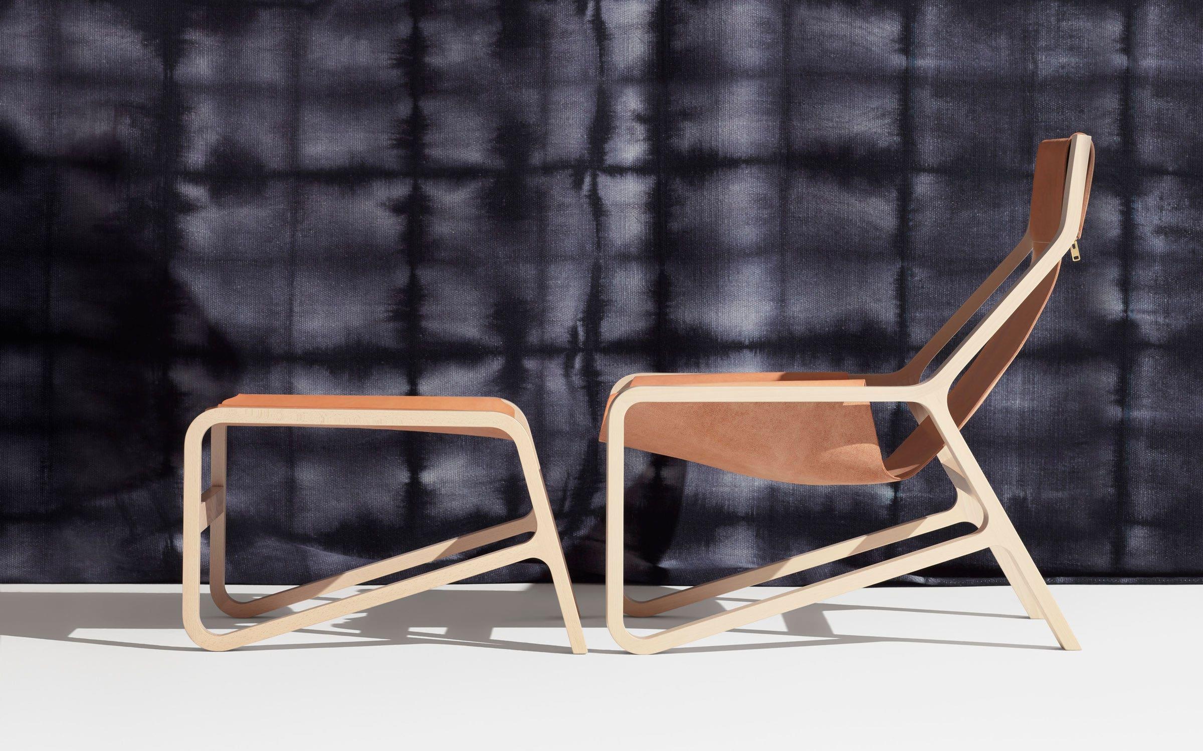 Tremendous Toro Sling Ottoman Leather Sling Ottoman Blu Dot Spiritservingveterans Wood Chair Design Ideas Spiritservingveteransorg